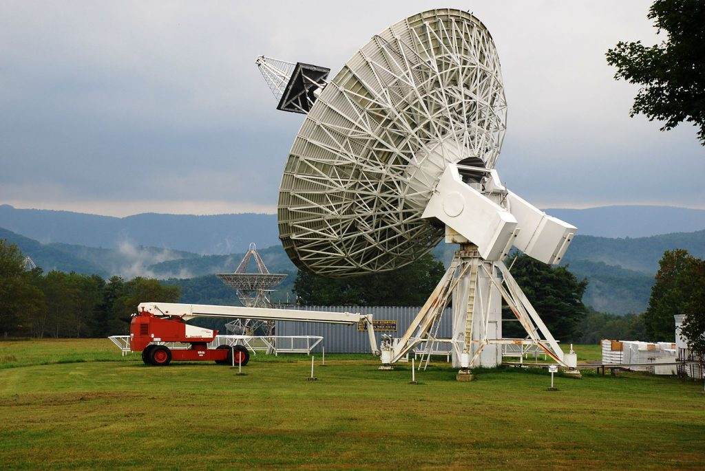Green Banks 45ft telescope