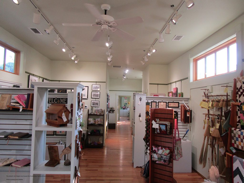 The Pocahontas County Artisan Co-op's 4th Ave. Gallery.
