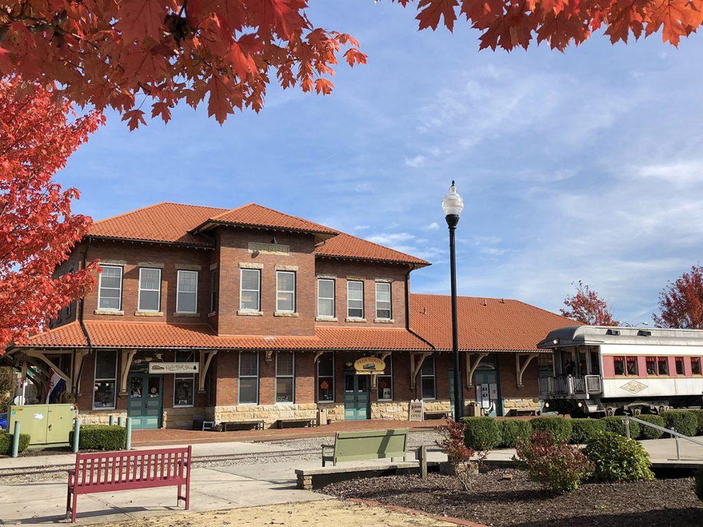 Elkins Depot Welcome Center